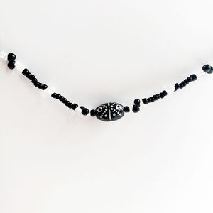 Black and White Simplicity Necklace